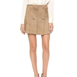 RAMY BROOK SUEDE JESSIE SKIRT